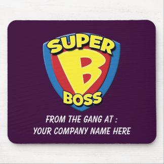 Customizable Super Boss Mousepad