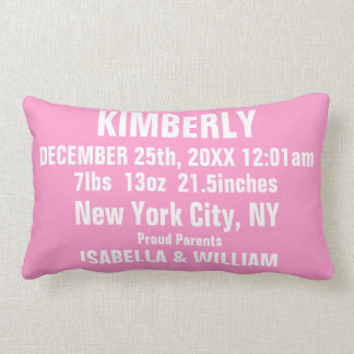 Customizable Super Cool Baby Girl Pillow (Pinky) Cushion