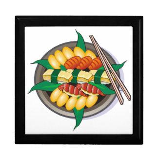 Customizable Sushi, Sashimi Japanese Cuisine Jewelry Box