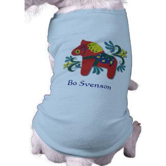 Customizable Swedish Dala Horse Shirt