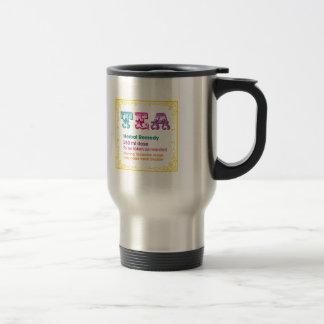 Customizable: Tea - Herbal Remedy Stainless Steel Travel Mug