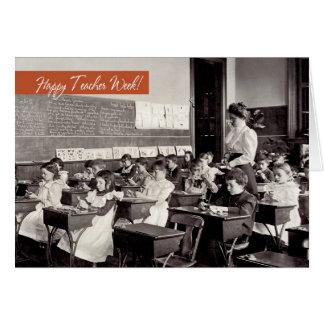 Customizable Teacher Appreciation Week Cards
