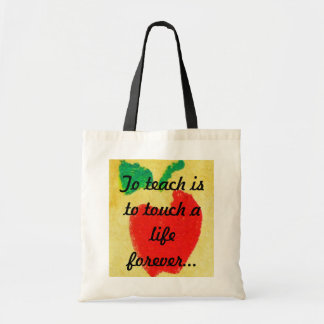 Customizable Teacher Tote Bag