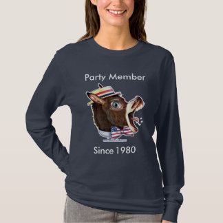 Customizable Template - Democratic Party Member T-Shirt
