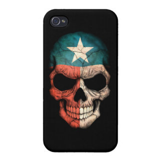 Customizable Texas Flag Skull Cover For iPhone 4