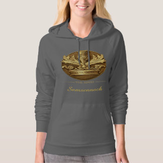 Customizable Thistle of Scotland Emblem Hoodie