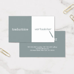 Translators business cards business card printing zazzle uk customizable translator business card colourmoves