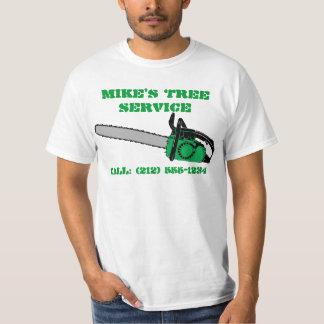CUSTOMIZABLE Tree Service T-Shirts