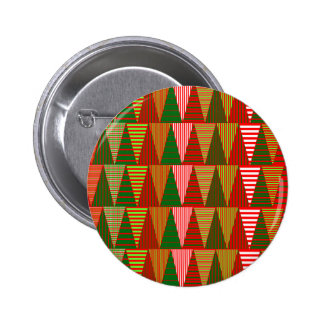 Customizable Tri Christmas Trees Buttons