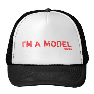 Customizable Trucker Hat:  Add text and pics!