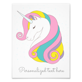 Customizable Unicorn Print