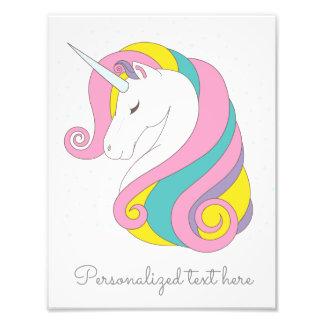 Customizable Unicorn Print Photograph