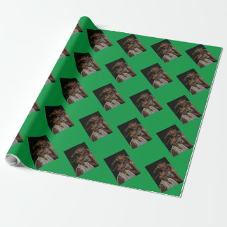 Customizable Vertical Photo Template Personalize Wrapping Paper
