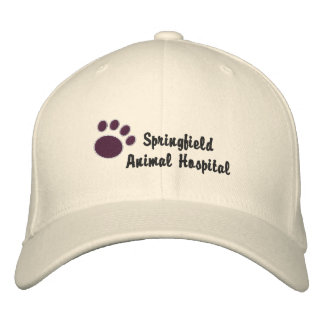 Customizable Veterinary Embroidered Cap