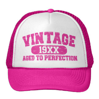 Customizable Vintage Aged To Perfection Hats