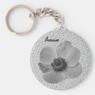 Customizable Vintage Anemone Keychain