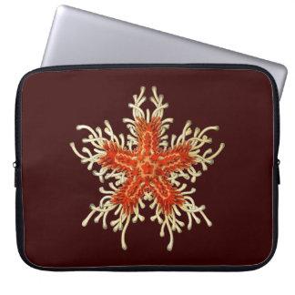 Customizable Vintage Haeckel Starfish Laptop Sleeve