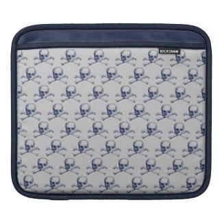 Customizable Vintage Skull & Crossbones iPad Sleeve
