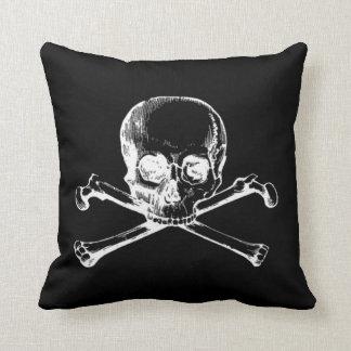Customizable Vintage Skull Cushion