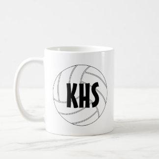 Customizable Volleyball Coffee Mug