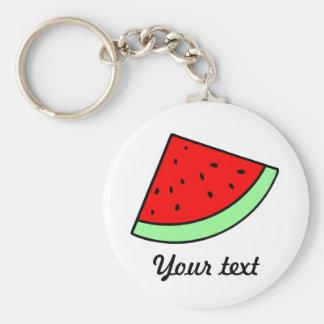 Customizable Watermelon Keychain (LIGHT)
