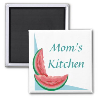 Customizable Watermelon Magnets