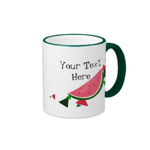 Customizable Watermelon Mug