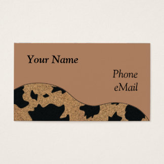 CUSTOMIZABLE Western Business Cards