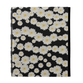 Customizable White Mums iPad Case