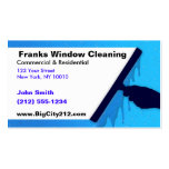 CUSTOMIZABLE Window Cleaning BC Pack Of Standard Business Cards