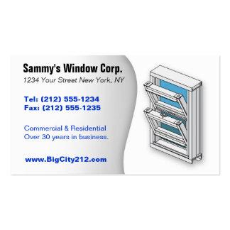 CUSTOMIZABLE Window Installer BC Business Card Templates