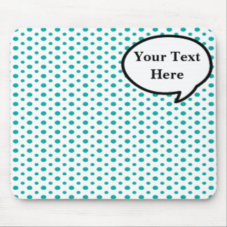 Customizable Word Bubble Mouse Pad