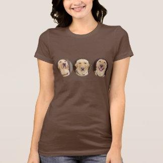 Customizable Yellow Lab T Shirts