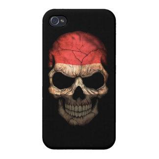 Customizable Yemen Flag Skull iPhone 4/4S Covers