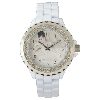 Customizable Your Photo Watch_With Numbers Watch