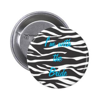 Customizable Zebra Button