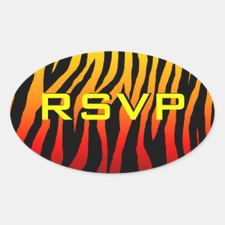 Customizable Zebra Sticker