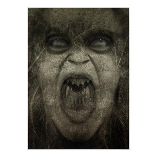 Customizable Zombie Invitation Cards