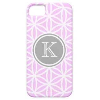 Customizble Pink and White FOL Design iPhone 5 Case
