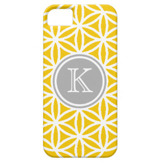 Customizble Yellow and White Design iPhone 5 Case