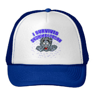 Customize a SNOWMAGEDDON Tshirt or Hoodie Trucker Hat