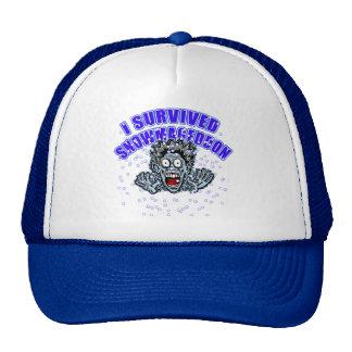 Customize a SNOWMAGEDDON Tshirt or Hoodie Trucker Hat