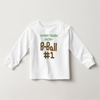 CUSTOMIZE B-Ball #1 WITH YOUR TEAM Tshirt