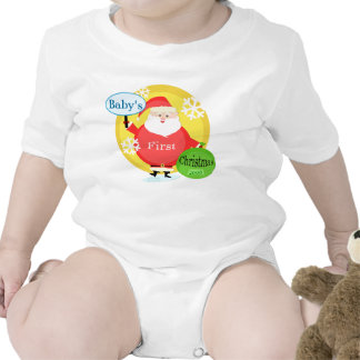Customize Baby s First Christmas Bodysuit