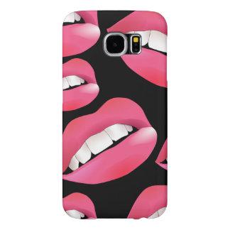 Customize Beautiful Lips Samsung Galaxy S6 Cases