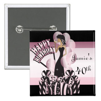 Customize Birthday Bash Buttons