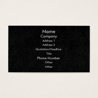 Customize business cards, black speckled denim business card