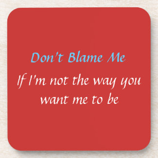 Customize  Clean Slate Rant For The Day Drink Coaster
