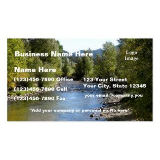 (Customize) Colorado Stream photo - Estes Park Pack Of Standard Business Cards