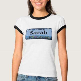 Customize Curacao License Plate Shirts